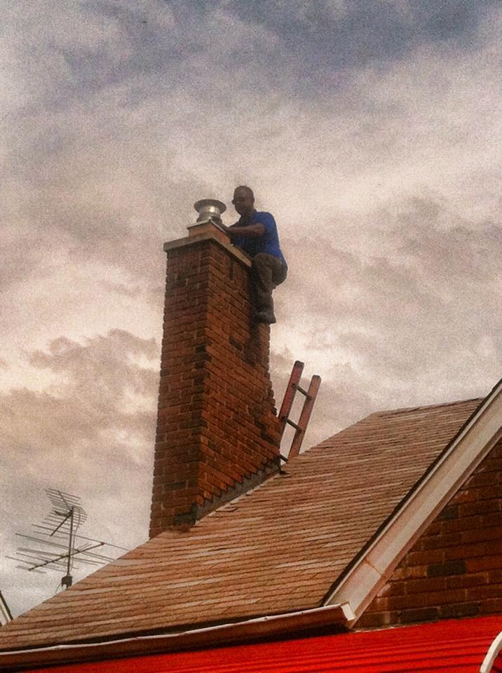 how to close chimney flue