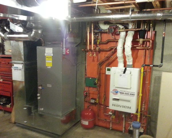 Hot Water Boiler Installation - JLH Heating and Air Conditioning