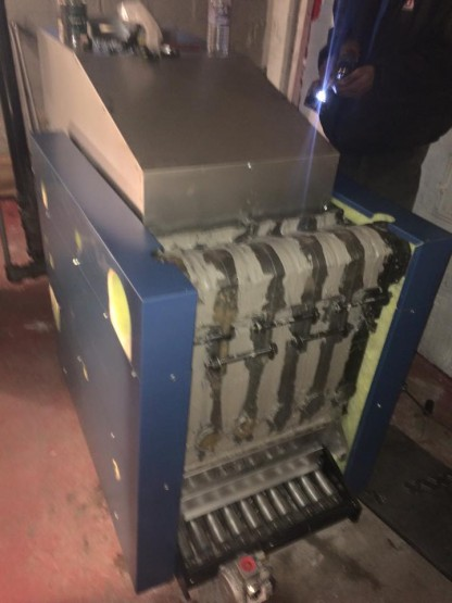 New boiler heat exchanger 2