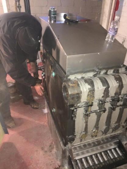 new boiler heat exchanger